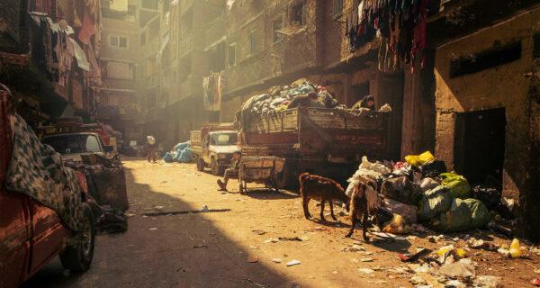 Жаль, что эти фотографии не передают запах: Город мусорщиков вКаире