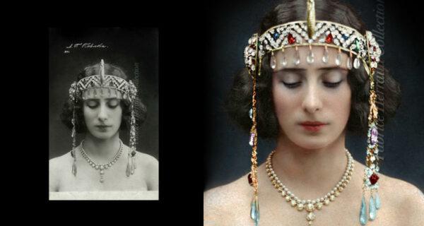 Анна Павлова и другие красавицы царской России в колоризированных архивных фото