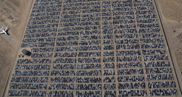 Как выглядит самое большое кладбище Volkswagen вСША