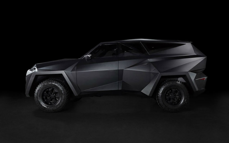 China will release the most expensive SUV in the world, and it is very similar to the Batmobile