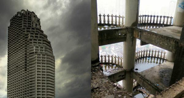 Как выглядит самый большой заброшенный небоскреб вмире