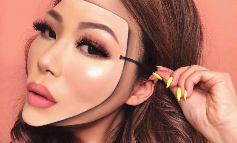 avatar girl makeup