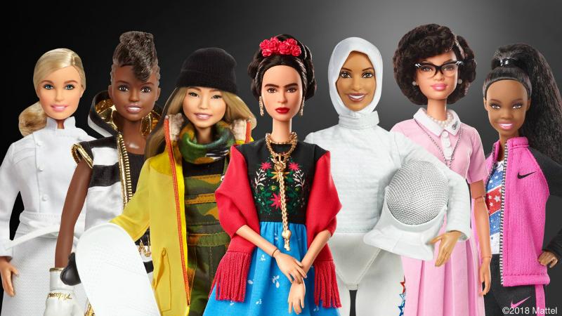 barbie role models main