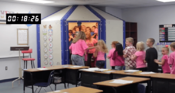 «Чур, я в домике!»: в американской школе появились первые пуленепробиваемые укрытия