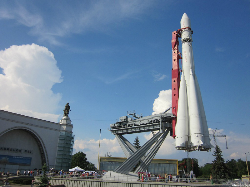 Картинка ракета восток на вднх многие занимаются
