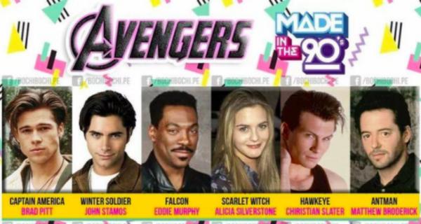 Как бы выглядели «Мстители», если бы их сняли в 90‑е