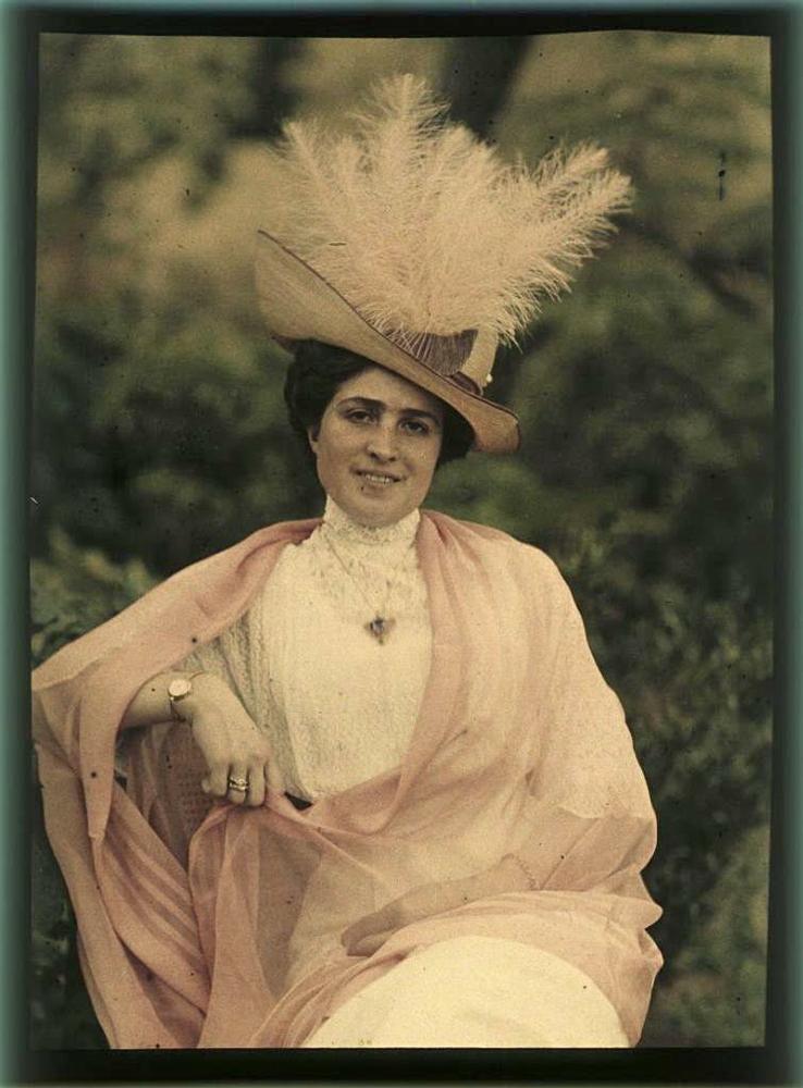 1256 - Дореволюционная Россия в первых цветных фотографиях 1910-х годов Петра Веденисова