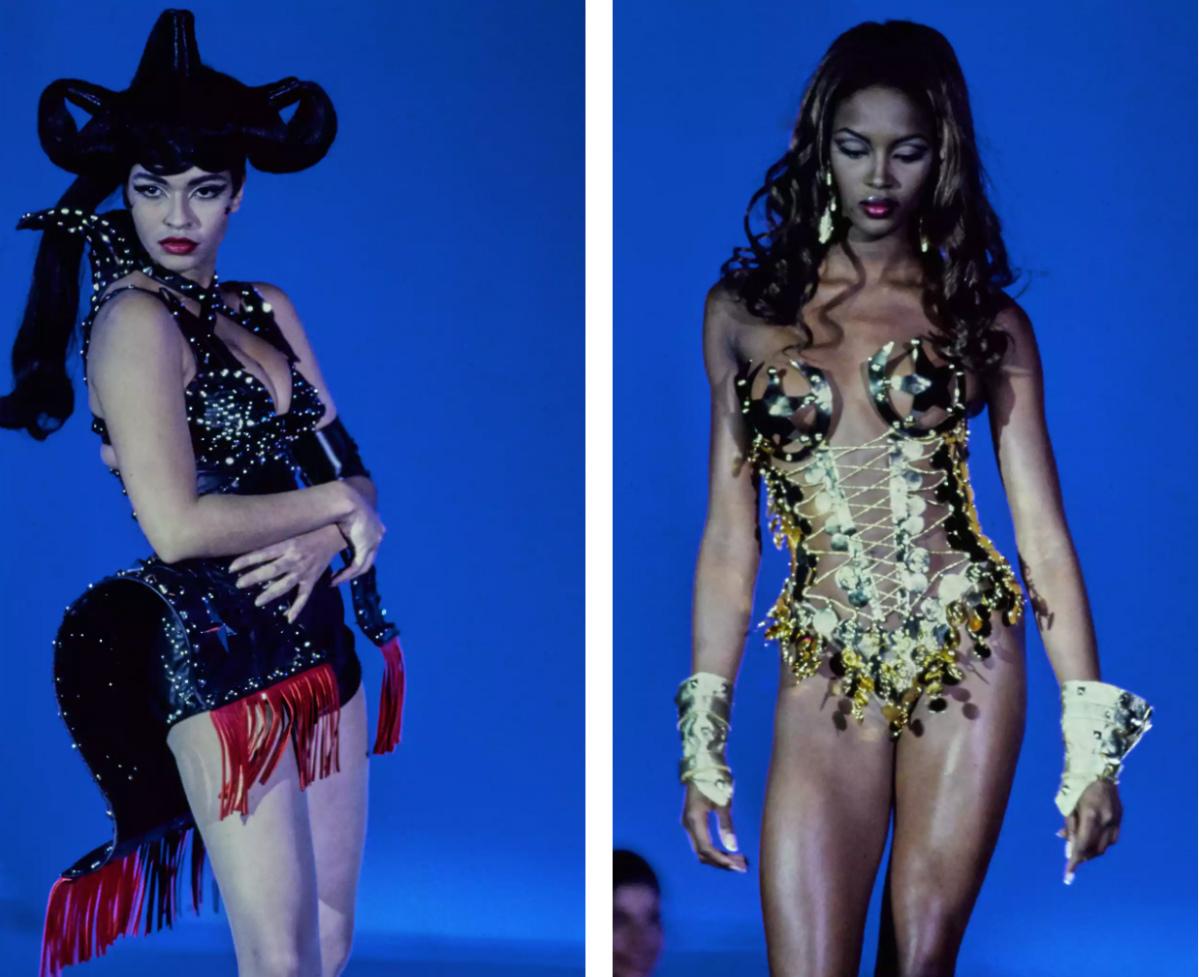 Порно видео показ моды знаменитыми моделями