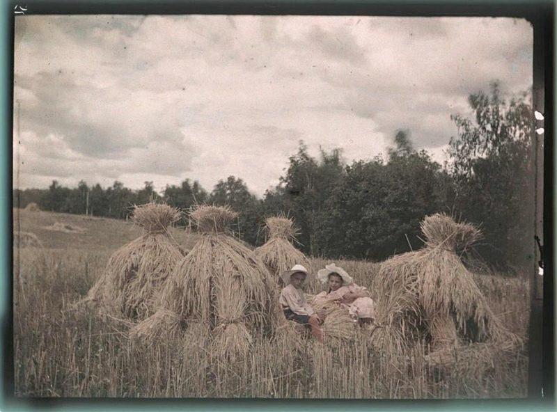 399 - Дореволюционная Россия в первых цветных фотографиях 1910-х годов Петра Веденисова