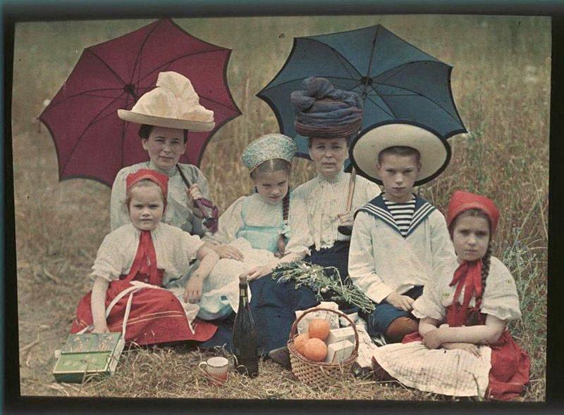 839 - Дореволюционная Россия в первых цветных фотографиях 1910-х годов Петра Веденисова