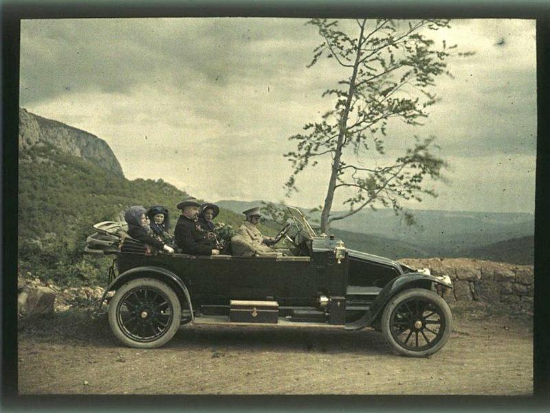 933 - Дореволюционная Россия в первых цветных фотографиях 1910-х годов Петра Веденисова