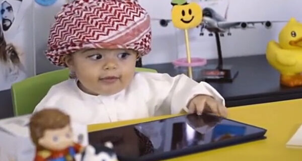 В аэропорту Дубая взяли на работу младенца