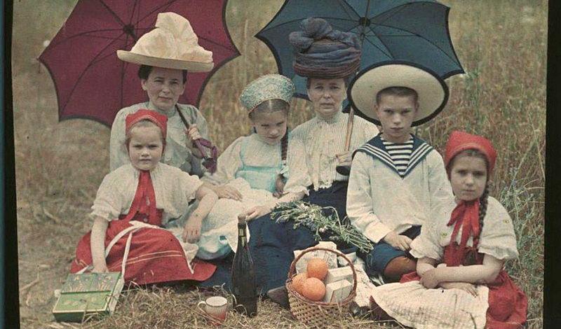 main41 - Дореволюционная Россия в первых цветных фотографиях 1910-х годов Петра Веденисова