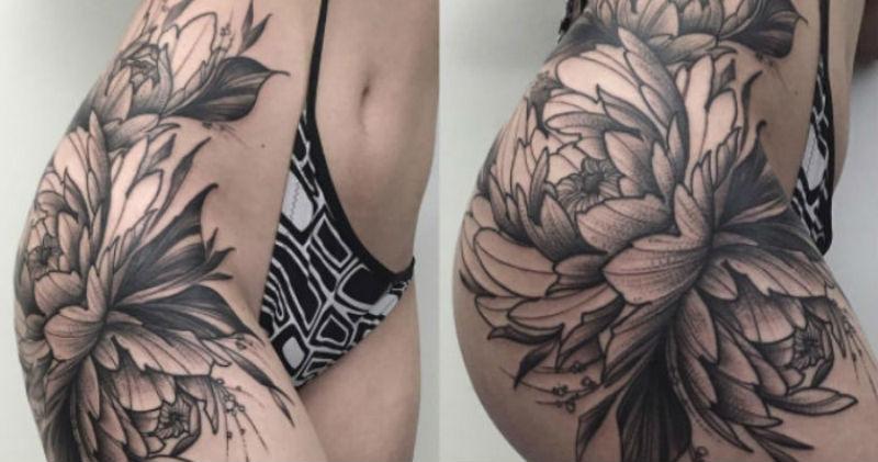 17 примеров потрясающих татуировок для ног