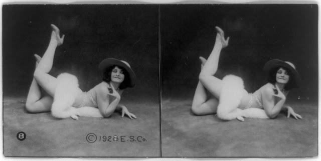 20s young women 12 - Задолго до VR-порно было вот это: стереокартинки секси-девушек 20-х годов