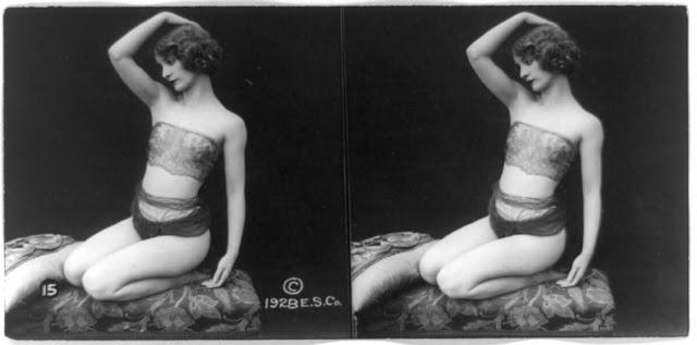 20s young women 15 - Задолго до VR-порно было вот это: стереокартинки секси-девушек 20-х годов