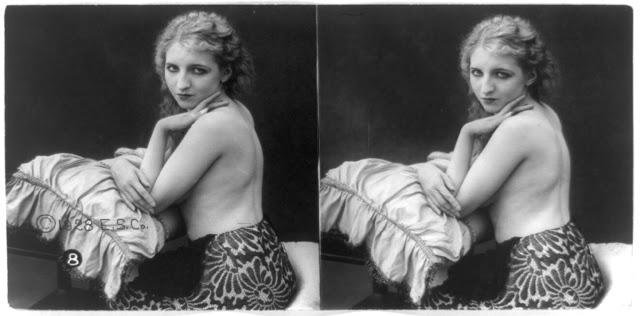 20s young women 16 - Задолго до VR-порно было вот это: стереокартинки секси-девушек 20-х годов