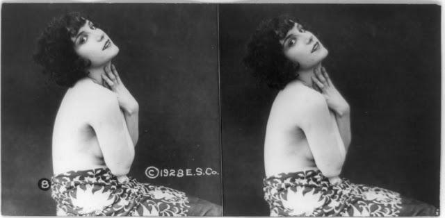 20s young women 18 - Задолго до VR-порно было вот это: стереокартинки секси-девушек 20-х годов