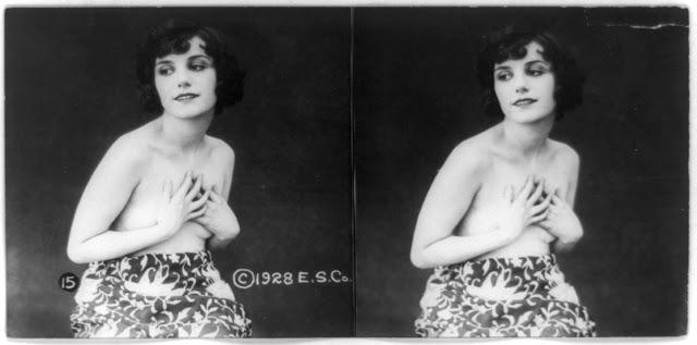 20s young women 19 - Задолго до VR-порно было вот это: стереокартинки секси-девушек 20-х годов