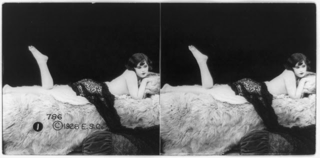 20s young women 20 - Задолго до VR-порно было вот это: стереокартинки секси-девушек 20-х годов