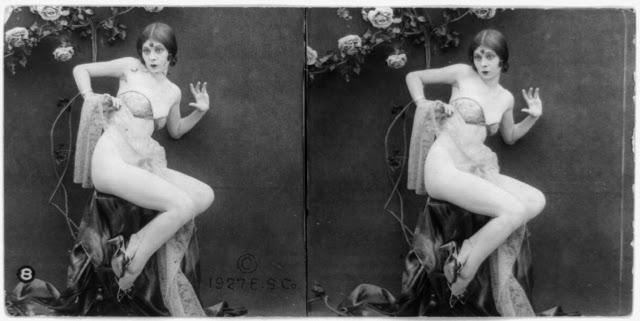 20s young women 25 - Задолго до VR-порно было вот это: стереокартинки секси-девушек 20-х годов