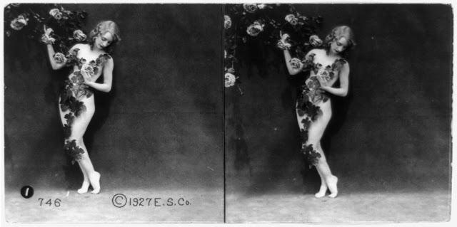 20s young women 26 - Задолго до VR-порно было вот это: стереокартинки секси-девушек 20-х годов