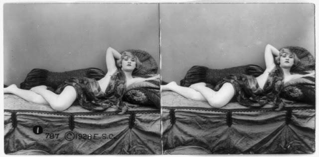 20s young women 29 - Задолго до VR-порно было вот это: стереокартинки секси-девушек 20-х годов