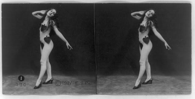 20s young women 3 - Задолго до VR-порно было вот это: стереокартинки секси-девушек 20-х годов