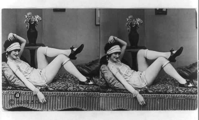 20s young women 32 - Задолго до VR-порно было вот это: стереокартинки секси-девушек 20-х годов