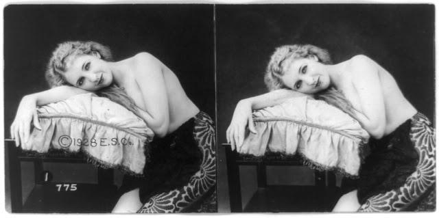 20s young women 39 - Задолго до VR-порно было вот это: стереокартинки секси-девушек 20-х годов