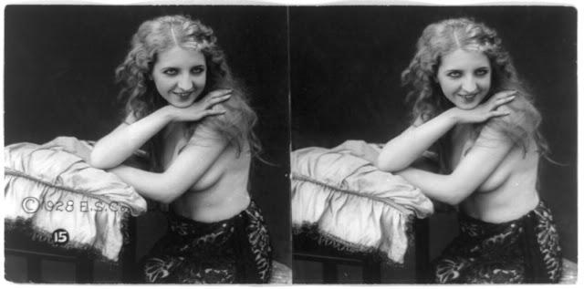 20s young women 40 - Задолго до VR-порно было вот это: стереокартинки секси-девушек 20-х годов