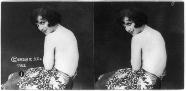 20s young women 43 - Задолго до VR-порно было вот это: стереокартинки секси-девушек 20-х годов