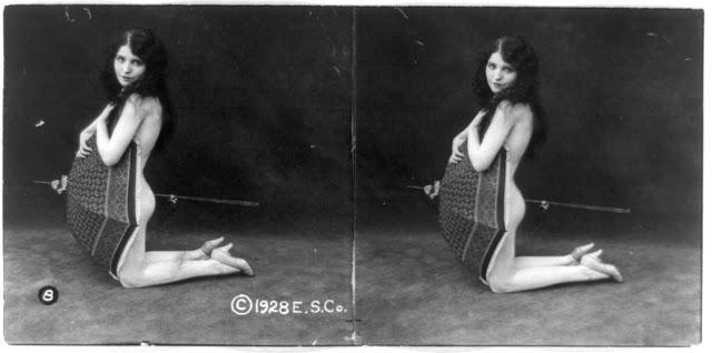 20s young women 44 - Задолго до VR-порно было вот это: стереокартинки секси-девушек 20-х годов