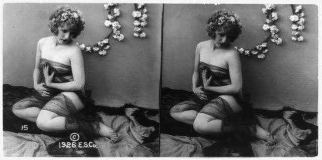 20s young women 45 - Задолго до VR-порно было вот это: стереокартинки секси-девушек 20-х годов