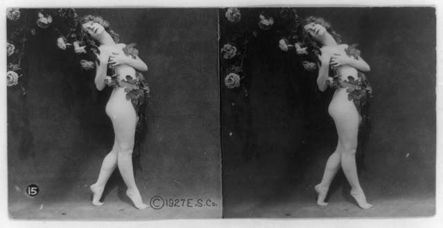 20s young women 8 - Задолго до VR-порно было вот это: стереокартинки секси-девушек 20-х годов