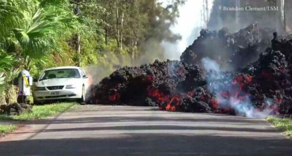 Вулкан Килауэа на Гавайях продолжает уничтожать остров