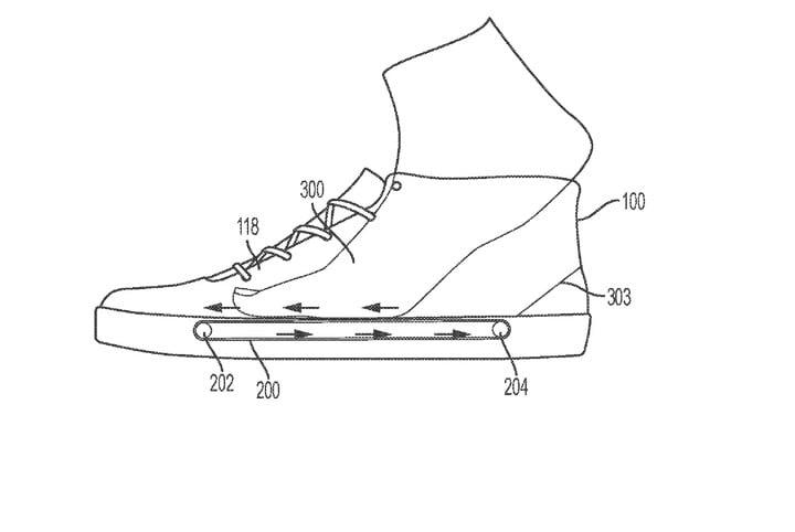 «Ногу в обувь затянет конвейер»: Nike придумала кроссовки, которые надеваются сами будет, кроссовки, кроссовок, также, обувь, встроенной, специалисты, можно, конвейера, который, помощью, которые, компания, надевание, Мотор, обуви, запитываться, аккумуляторной, снимание, батареи