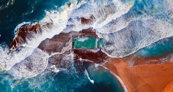 Сиднейские пляжи — вид из поднебесья