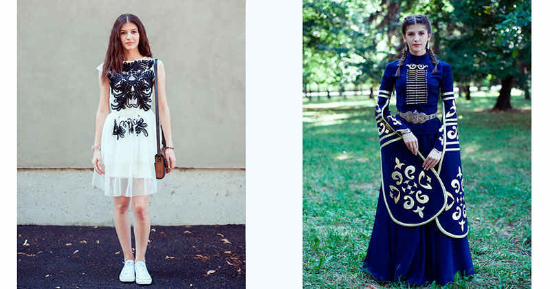 Отображение Кавказа: как меняется человек, когда надевает национальный костюм