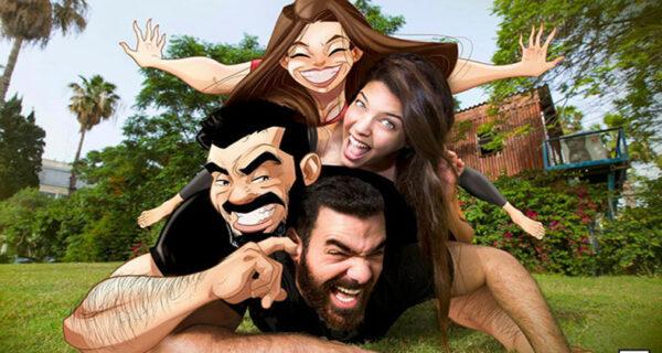 Израильский художник узнал секрет семейного счастья и показал его в откровенных комиксах