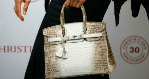 Дорого-богато: на лондонском аукционе сумку Birkin продали за 217 тысяч долларов