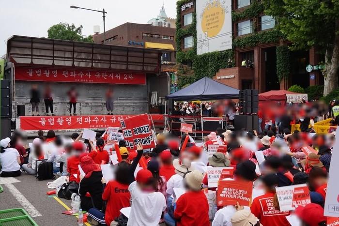 «Моя жизнь — не ваше порно»: южнокорейские женщины вышли на митинг против «шпионских камер» Molka, women, камер, molka, женщин, Those, Многие, allyjung, порно», Полиция, порно, женщины, Hawon, шпионских, которые, против, страны, также, Корее, инцидент