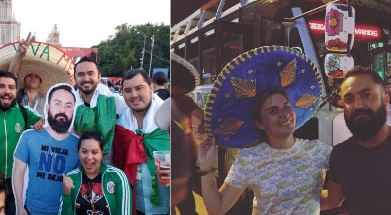 «Картонный мексиканец» все-таки приехал на ЧМ в Россию и очень удивился, что он здесь знаменитость