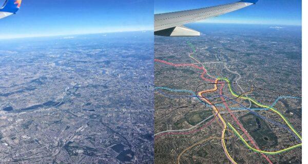 Как фотография Лондона из самолета превратилась в 3D-карту метрополитена