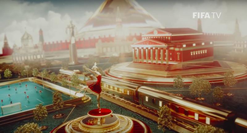 «Игра престолов» и яйца Фаберже: FIFA показала официальную ТВ-заставку к ЧМ-2018 в России