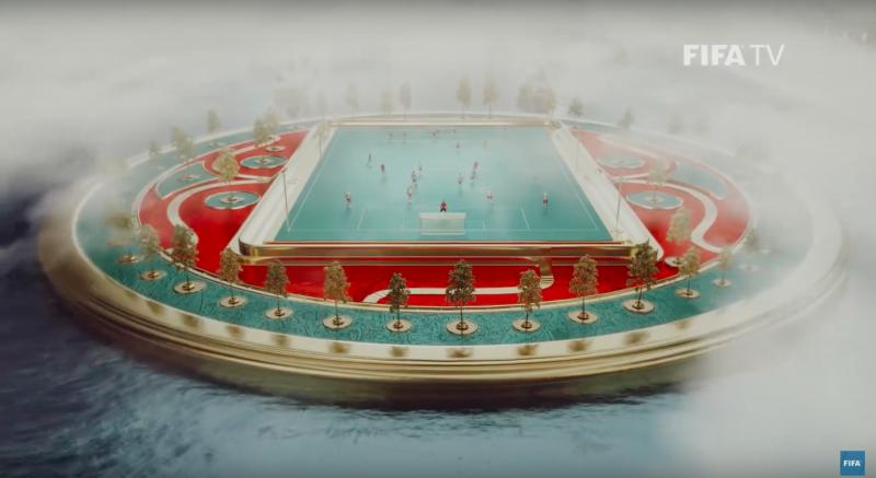 «Игра престолов» и яйца Фаберже: FIFA показала официальную ТВ-заставку к ЧМ-2018 в России России, очень, которую, может, центре, стремительно, круто, культурное, русская, магическом, которые, русских, транслируются, тройка, Россия, получилось, парка, такое, ролик, символов