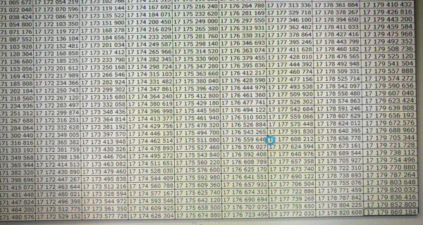 Житель Хабаровска вручную прошел весь Excel, заполнив 17 миллиардов ячеек