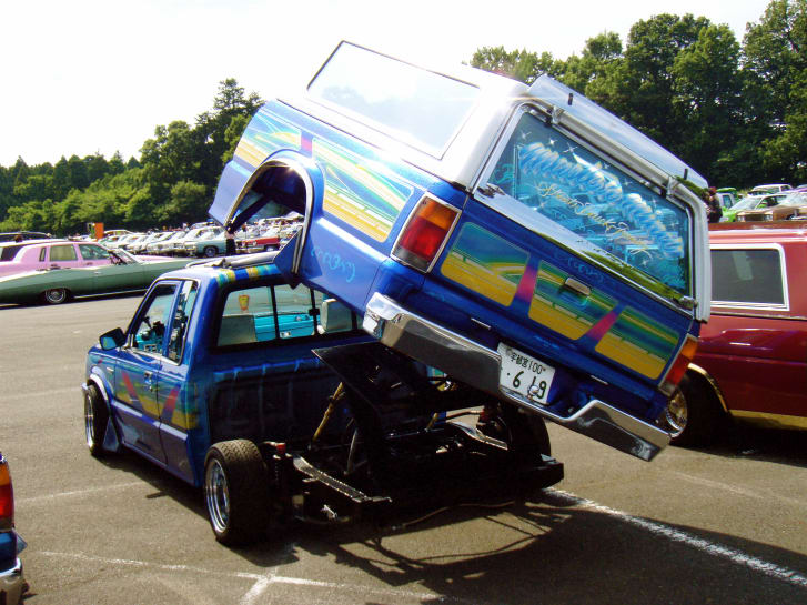"""""""First, we underestimated the truck"""": the history of the first club of lowriders Japan"""