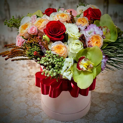 Мужской букет - купить с доставкой по Москве букет цветов для