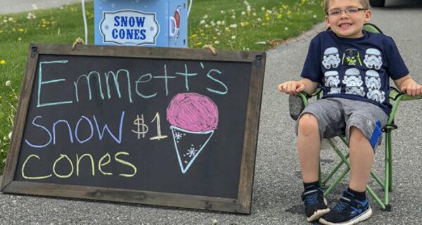 Отец отказался покупать шестилетнему сыну велосипед, и тот открыл собственный бизнес